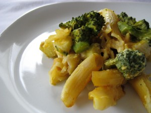Creamy Baked Penne with Broccoli