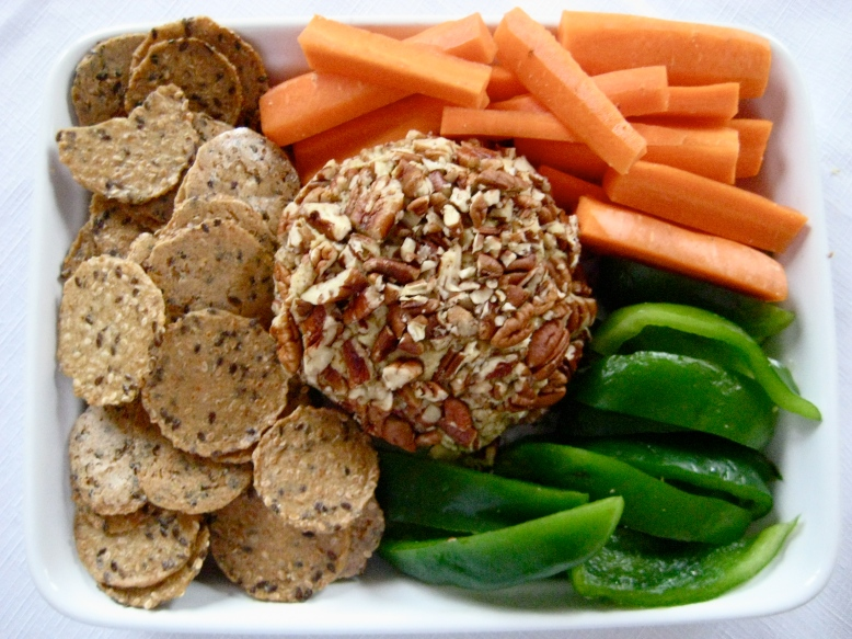 Pecan-Crusted Pate:Cheeseball