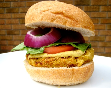 chickpea burger 3