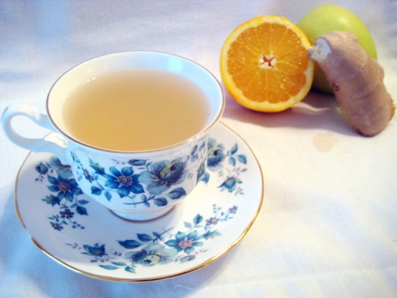 ginger pear tea