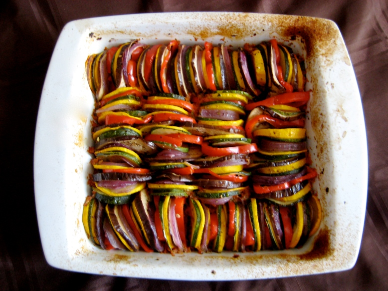 rataouille baked