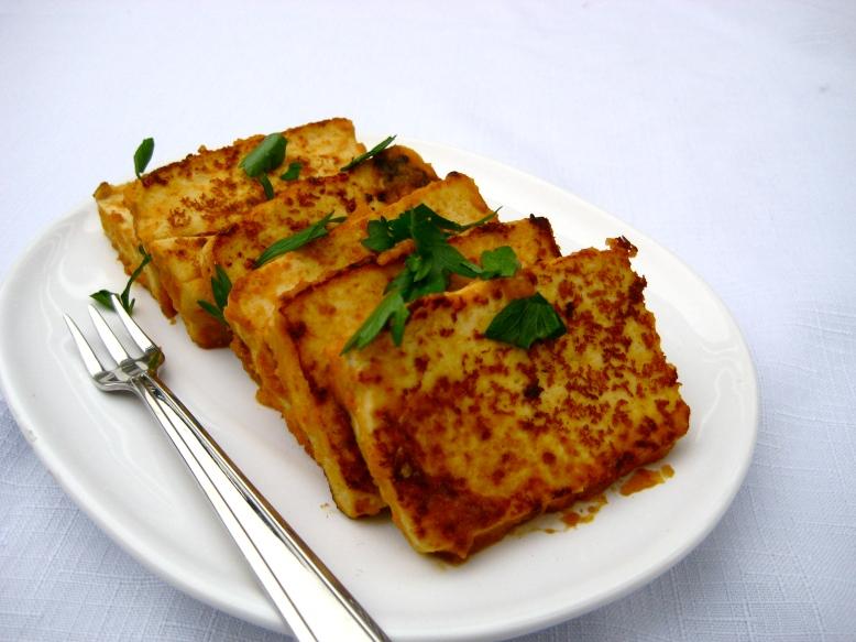 Spicy Apricot Tofu
