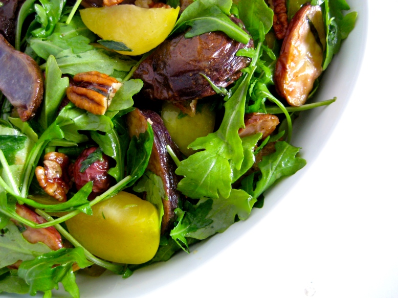 Fingerling, Plum, and Arugula 1