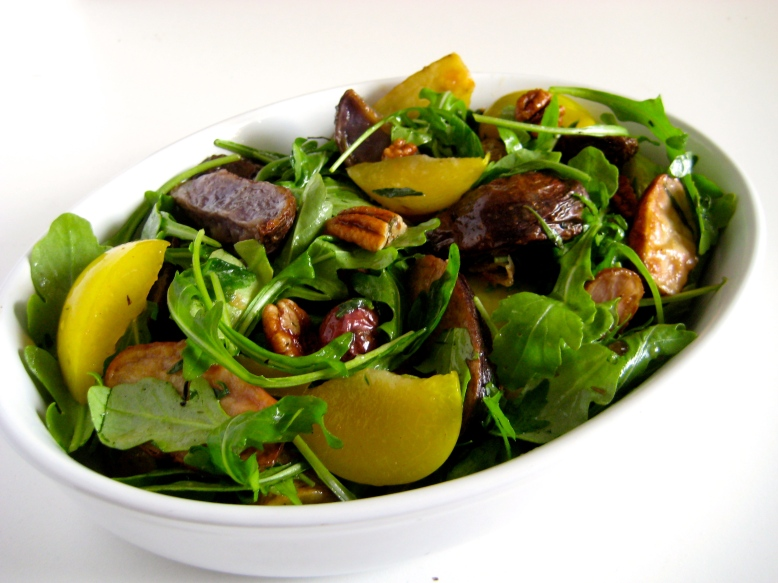 Fingerling, Plum, and Arugula 2