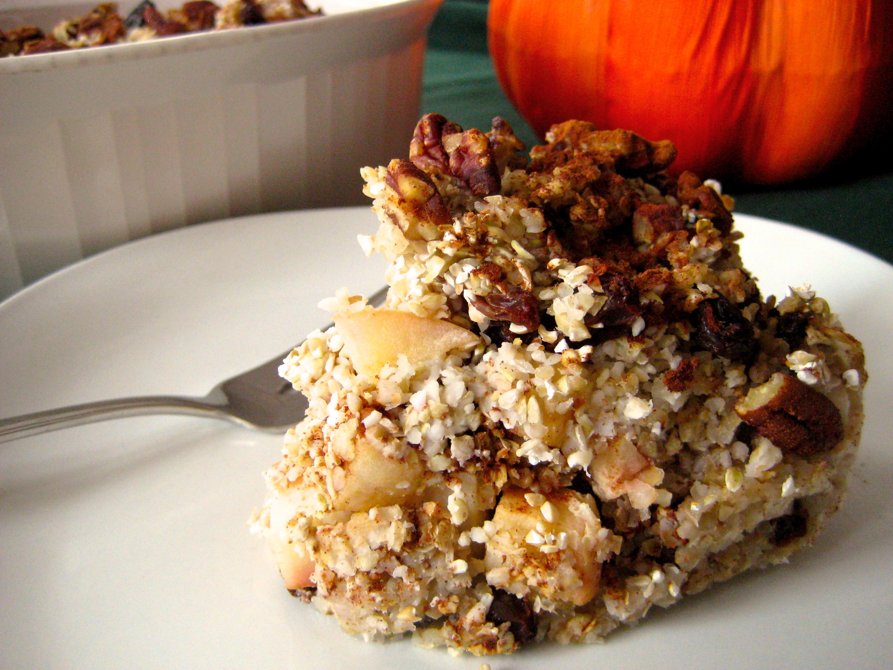 Maple Apple Buckwheat Breakfast Casserole   Laurie Sadowski