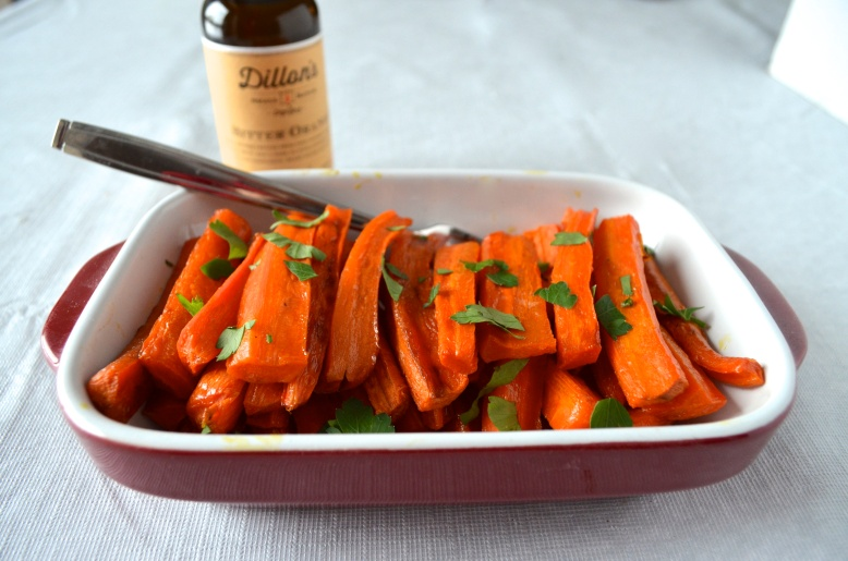 Maple Roasted Carrots with Bitter Orange 2