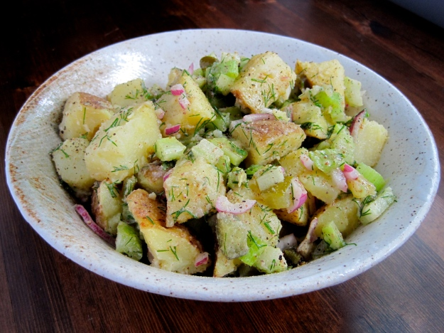 potato salad (dill pickle)4