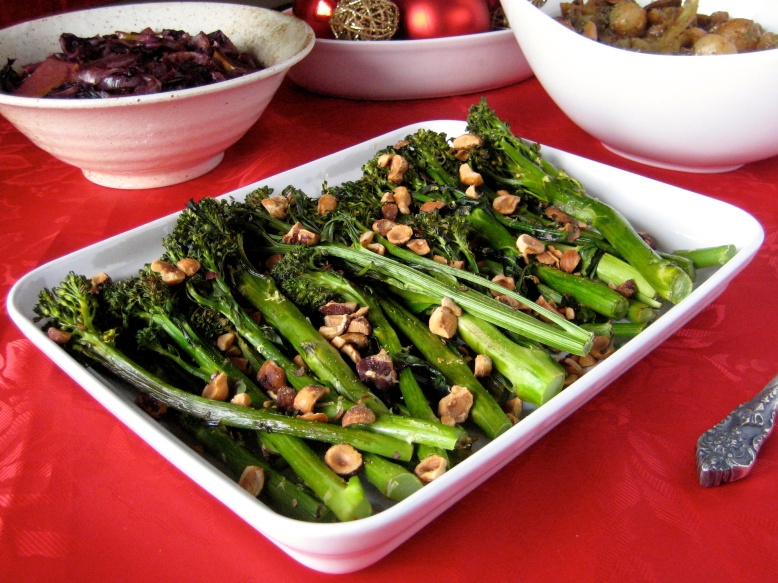 Roasted Broccolini with Toasted Hazelnuts2