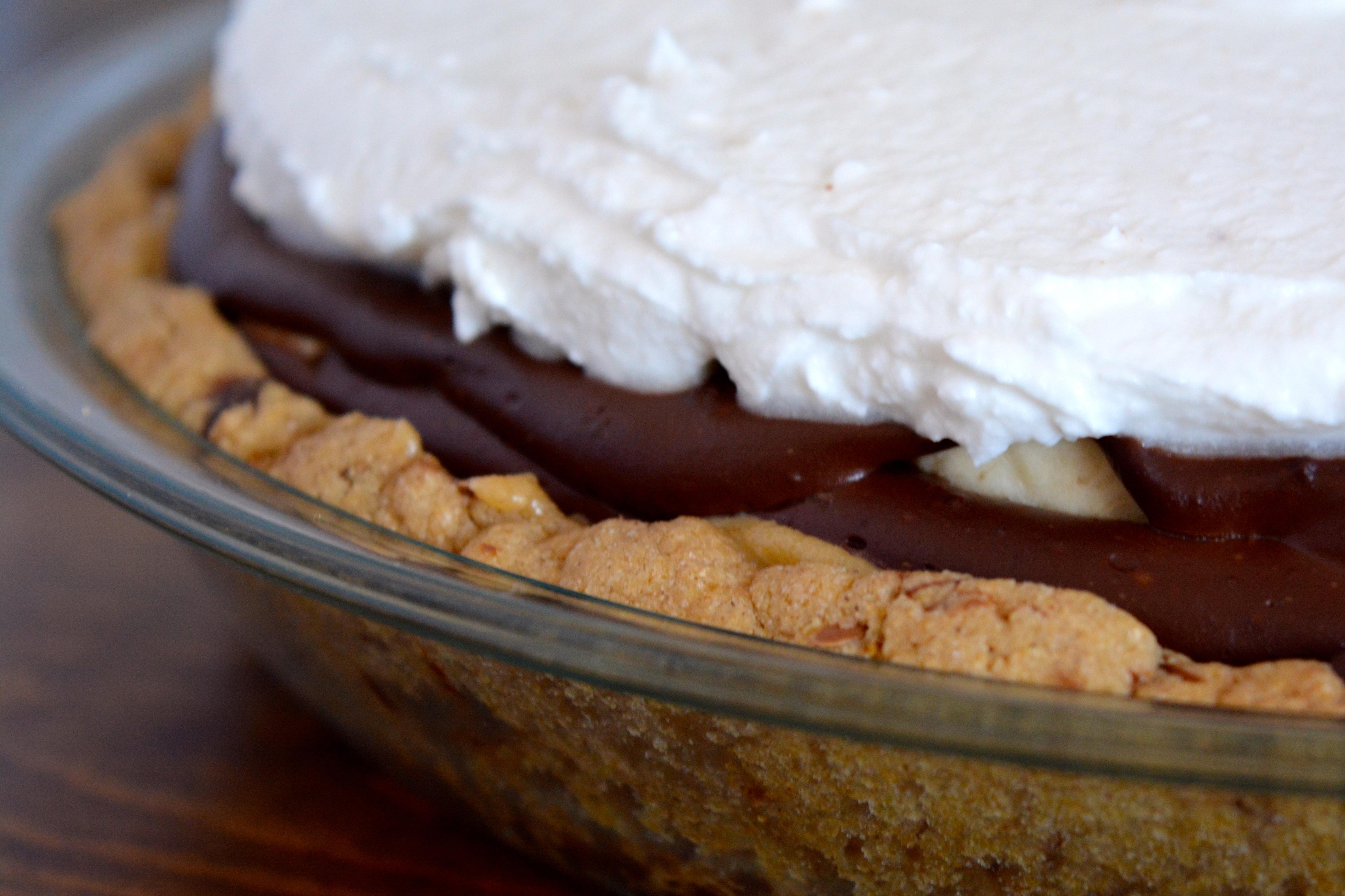 Banana-Tahini Carmel-Chocolate Pudding Pie – Laurie Sadowski
