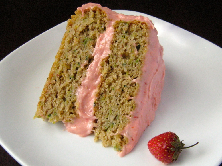 Gluten-Free Lemon Zucchini Layer Cake with Strawberry Buttercream2