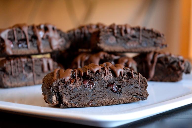 So Delicious - Black Forest Biscotti