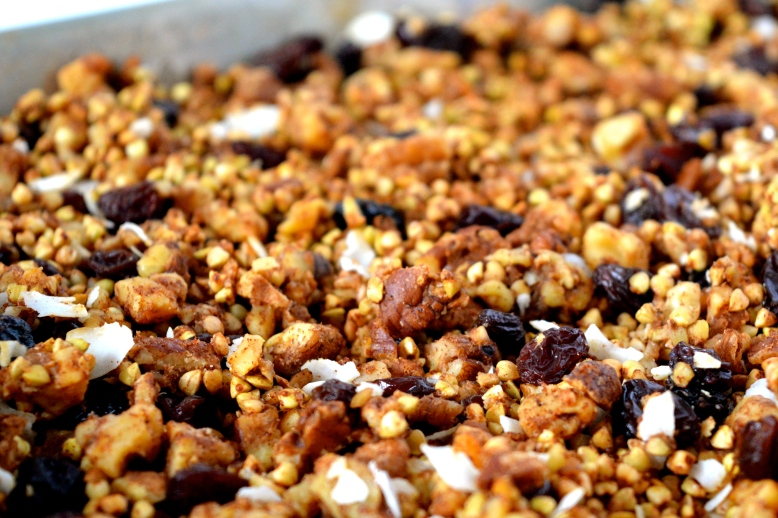 Basic Buckwheat Granola