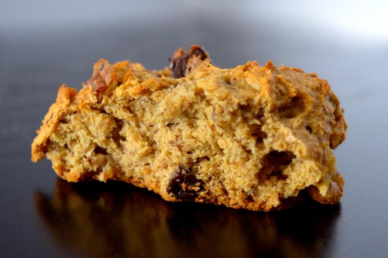 Banana Bread Cookies with Chocolate Chunks, Raisins, and Pecans