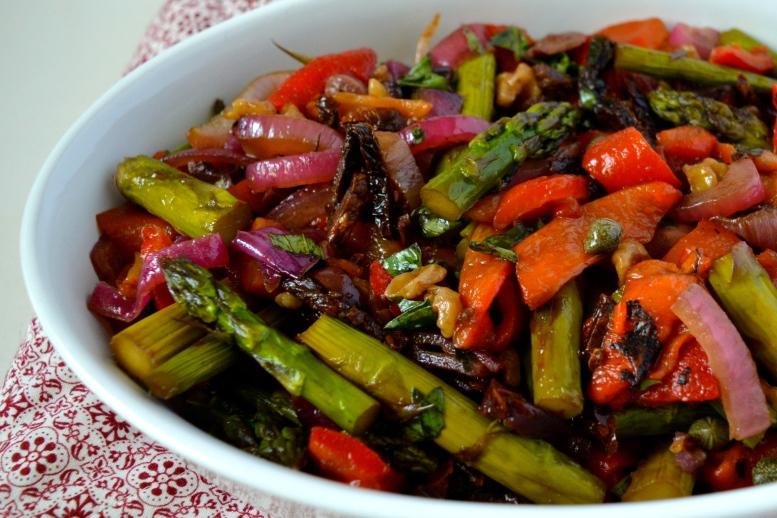 Mediterranean Asparagus Salad