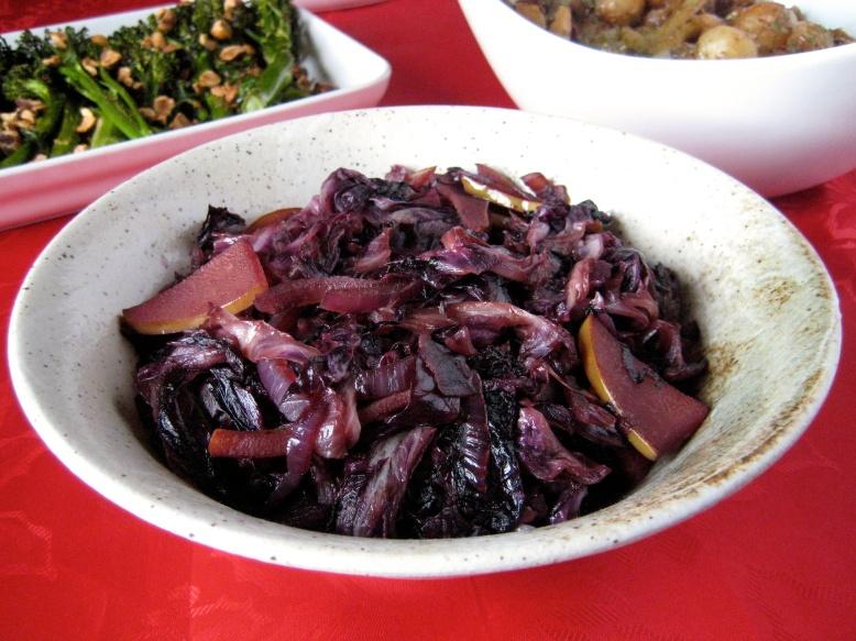 sauteed-radicchio-with-pears